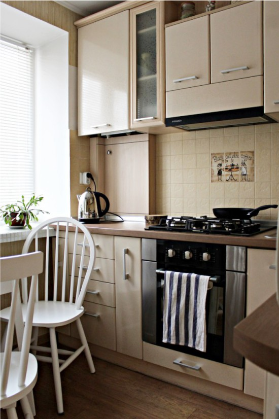 Гланцирана кухня, PVC фолио