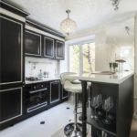 Virtuve-dzīvojamā istaba Hruščovā