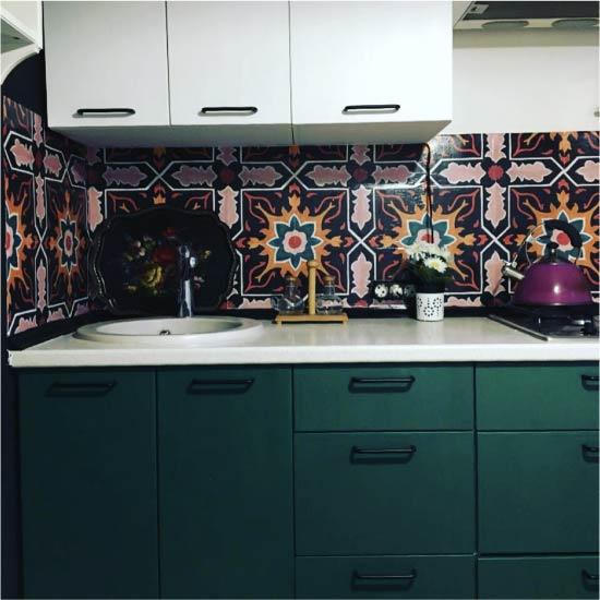 Vecā virtuve pēc izmaiņām