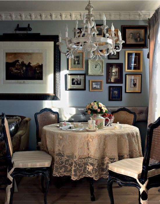 Трапезария в руски стил