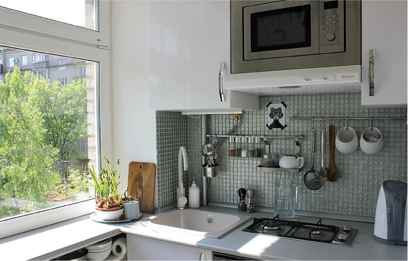 Sínek egy kis konyhában