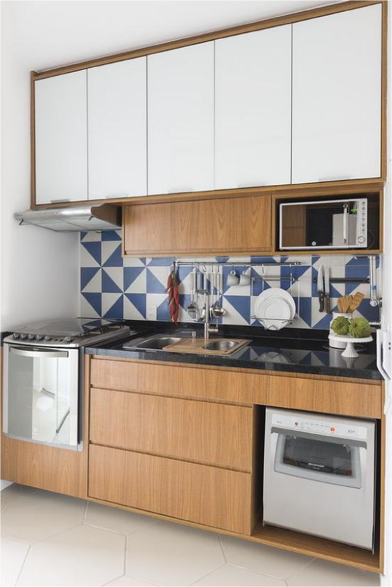 Sínek a modern konyhában
