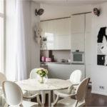 Γυαλισμένη κουζίνα χωρίς λαβές από το εργοστάσιο Μαρία