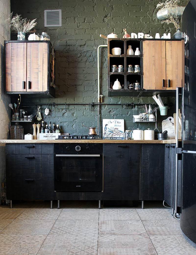 Nhà bếp có tay cầm vô hình