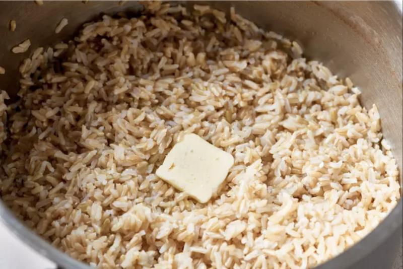אורז בראון מוכן