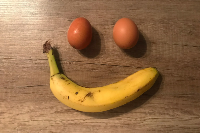 Hozzávalók a banánfrittekhez