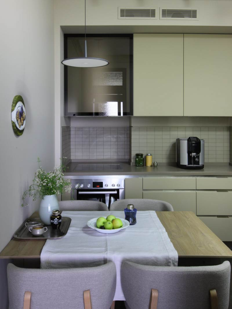 Moderne Olivenküche