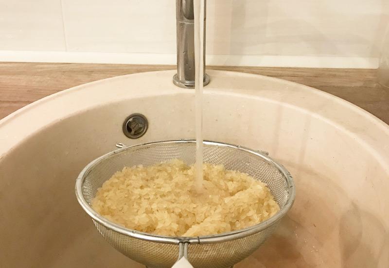 Pranje riže
